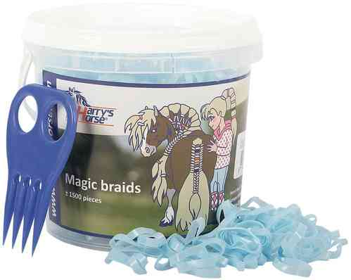 Harrys Horse Magic braids