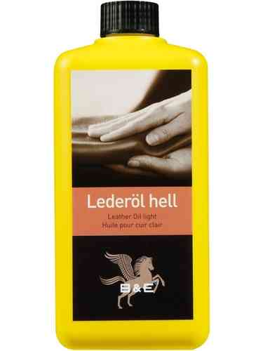 B&E Lederöl, 500ml hell