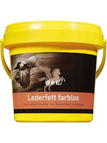 B&E Lederfett, 100ml gelb