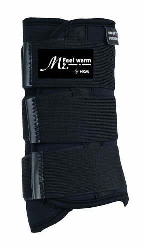 HKM Softoprengamasche Mr. Feel Warm, Vorderbein