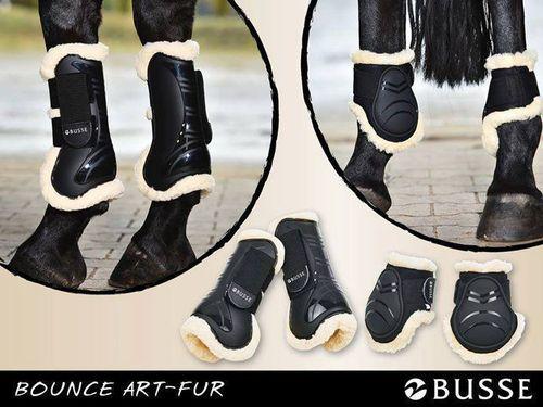 BUSSE Gamaschen BOUNCE ART-FUR Fellgamaschen Fell Dressurgamaschen