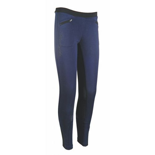 HKM Reitleggings Starlight, Silikon Vollbesatz