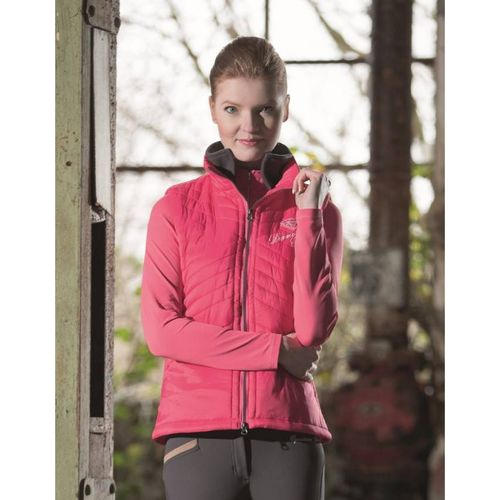 HKM Reitweste Diamonds Pink Star - 2 Farben -