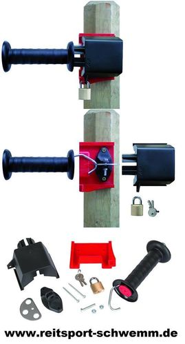 "Kerbl Sicherheits Torgriff Set ""Gate Lock"""