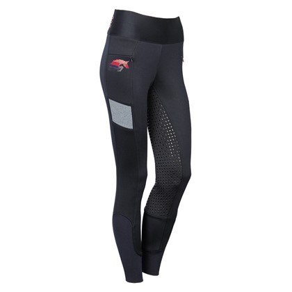 "Harrys Horse Limited Edition -- Reitleggings ""Just Ride Pink"""